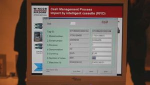 The cassettes can then be tracked, with the totals monitored, via a Web-based system.
