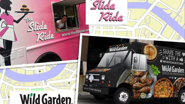 Partnership pays off for food truck and Mediterranean food importer