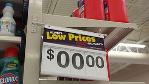Walmart: Pricing perseverance or insanity?