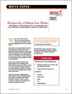 Recipes for a Gluten-free Menu