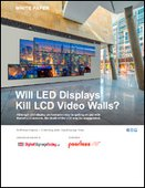 Will LED Displays Kill LCD Video Walls?