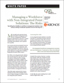 Managing a Workforce with Non-Integrated Point Solutions: The Risks