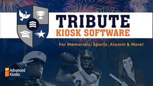 Tribute Software for Interactive Kiosk Memorials and Recognition