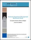 Customer Experience Management Benchmark Study