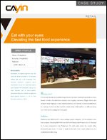 Eat with your eyes: Elevating the fast food experience