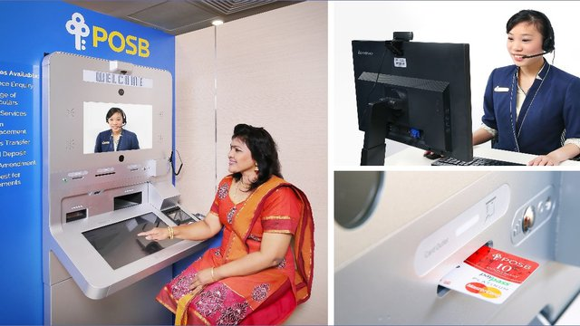 POSB Launches First GRGBanking Video Teller Machine in Singapore