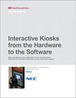 Interactive Kiosks from the Hardware to the Software