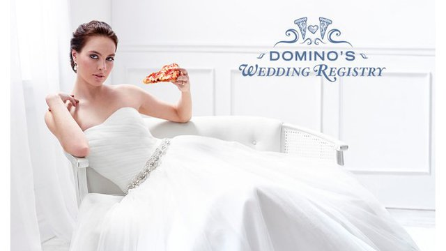 And the bride wore … pepperoni?