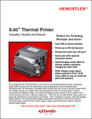 Hecon X-80™ Thermal Printer
