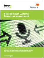 Best Practice in Customer Experience Management