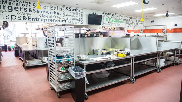 L A Commercial Kitchen Offers Additional Services Food