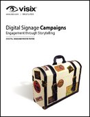 Digital Signage Campaigns Engagement through Storytelling
