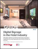Digital Signage in the Hotel Industry
