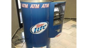 Baker worked with Lasercraft Inc. of North Ridgeville, Ohio, to develop a three-piece wrap for the ATM that allows for a quick change-out of ATM advertisers.