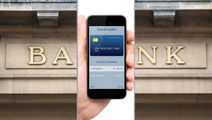 Disrupting banking's disruptors with mobile card services