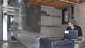 Study: Air Sealing Stops Loss from Interior Ductwork