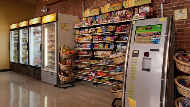 The self-service kiosk – one of the key elements of the micro market concept