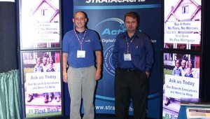 Mark Moody (left) and Jason Barnett from Stratacache.