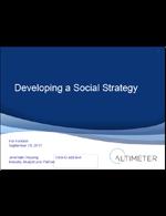 Foodservice Social Media Universe: Developing a Social Media Strategy