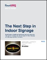 The Next Step in Indoor Signage