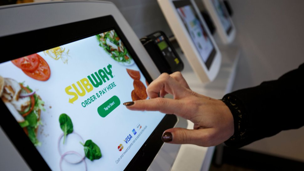 Self Order Kiosks Play Key Role In Subway S Tech Redesign