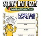 New Straw Hat Pizza marketing campaign features Garfield