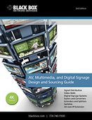 Black Box: The AV, Multimedia, and Digital Signage Design and Sourcing Guide