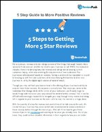 5 Step Guide to More Positive Reviews