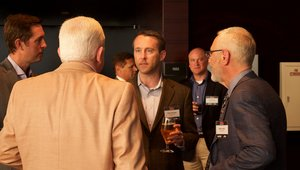 <p>Networking is in full swing at the gala.</p>