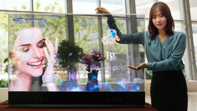 Samsung drops retail-ready transparent and mirror OLED