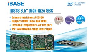 Intel® Atom™ x7-E3950 SBC Supports Extended Temperatures