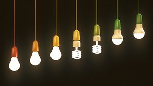 Infographic: Energy-saving lightbulb checklist