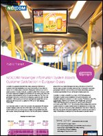 NEXCOM Passenger Information System Boosts Rider Satisfaction on Buses