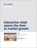 Interactive retail opens the door to market growth