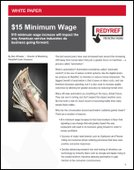 $15 Minimum Wage increase will impact American service industries