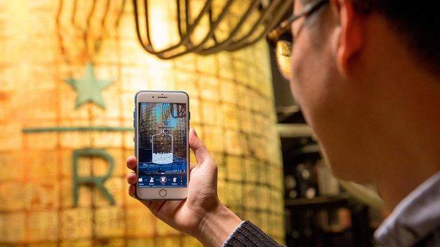 Starbucks launches AR experience in Shanghai