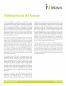 Thinking Outside the Package