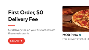 Doordash enters exclusive delivery partnership with Mod Pizza