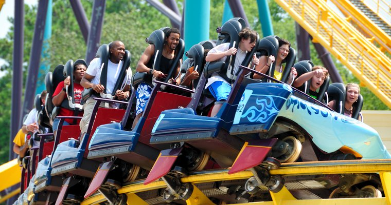Six Flags Georgia Converting To Cashless Payments Mobile Payments Today