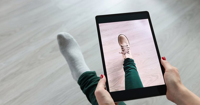 Need to know your foot size? There's an iPhone app for that
