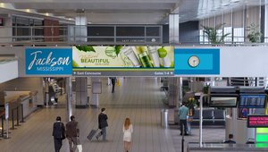 Clear Channel delivers digital advertising to Jackson-Medgar International Airport