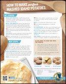 How to Make Perfect Mashed Idaho® Potatoes