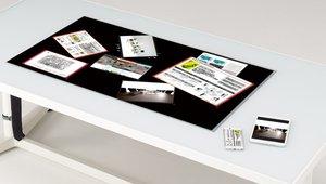 Itoki, Zytronic design interactive face-up table