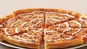 Still no pumpkin? Pizza Inn has a delicious one