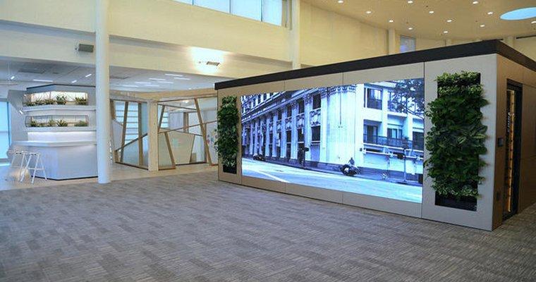 Le premier écran LED NanoSlim Engage de NanoLumens installé