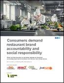 Consumers demand restaurant brand accountability and social responsibility