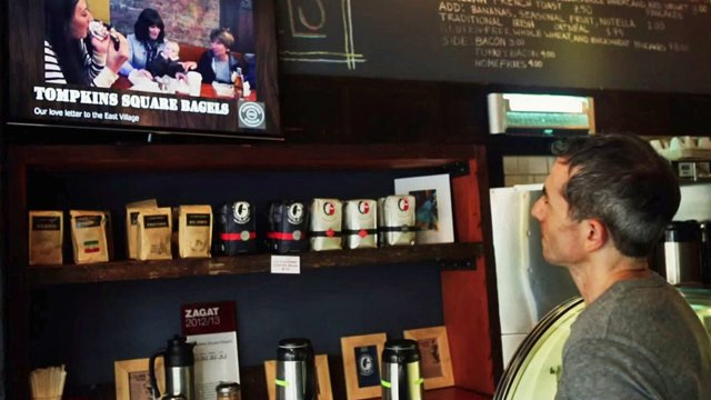 Digital signage levels the playing field for small business