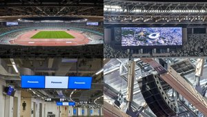 Panasonic delivers 600 displays to National Stadium in Japan