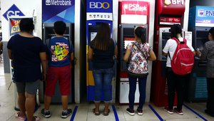 Banks in Philippines blame cap on fees for dwindling number of ATMs in country
