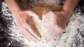 How do I love thee? Increasingly ... with a pizza dough heart